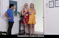 Sex Cu Doua Blonde Nu Stie Pe Care Sa O Futa Mai Mult Caci Ambele Sunt Bune